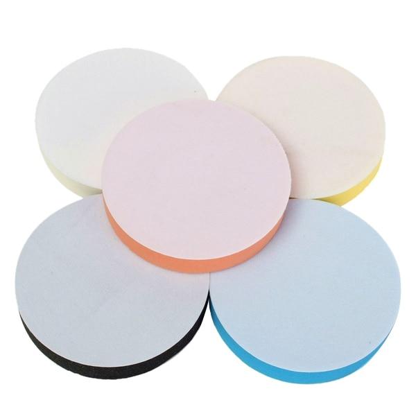 Set of 5PCS 3 Buffing Polishing Sponge Pads Kit for Car Polisher