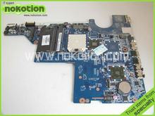 NOKOTION LAPTOP MOTHERBOARD FOR HP G42 G62 SERIES HDMI 592809-001 DA0AX2MB6E1 MOTHER BOARD DDR3 100% GOOD TESTED(China)