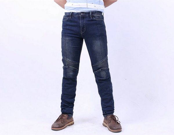 ФОТО Motorcycle protective daily riding jeans slub-2K kevlar fire prevention men's clothing Cowboys casual jeans Motorcycle jeans
