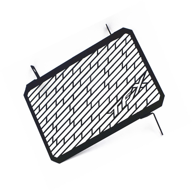 Black Motorcycle Cnc Radiator Grille Guard Cover Protector For