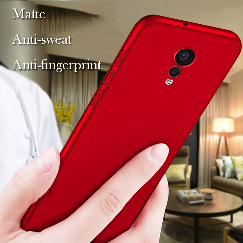 GXE 360 Degree Full Body Protection Shockproof Back Covers For VIVO X Play6 Case Matt Hard Plastic Phone Cover Bag For X Play 6