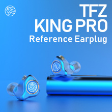 где купить The Fragrant Zither/ KING PRO Neckband HIFI Monitor Earphones, TFZ In Ear sports Hifi Earbuds Bass Earphones Metal earphone дешево