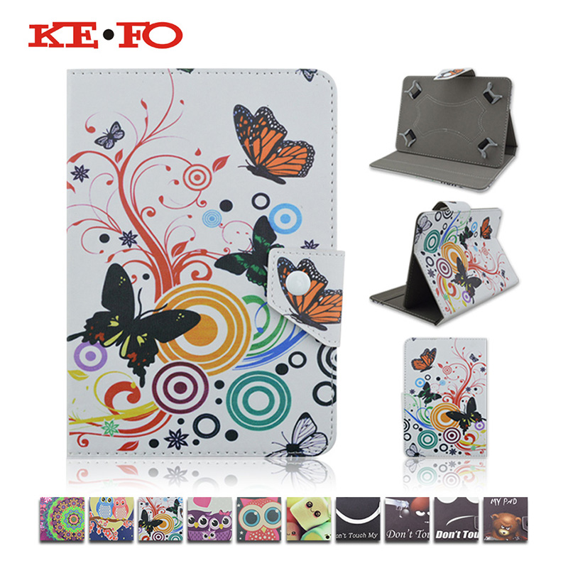 KeFo For Samsung Galaxy Tab E 7.0 T113 T116 PU Leather Case For Samsung Galaxy Tab 3 7.0 Lite T110 T111 Universal Child 7 inch