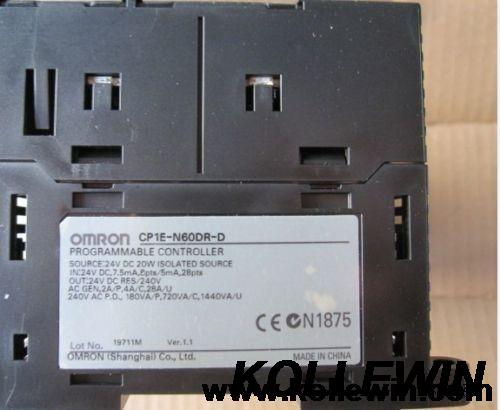 New OMR Sysmac Programmable logic controller CP1E-N60DR-D PLC CP1E CPU unit DC24V 36 DI 24 DO Relay цена и фото