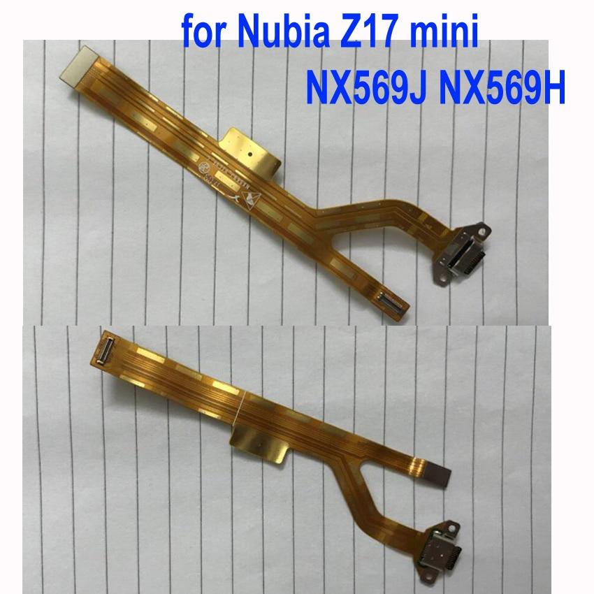 Charging Port Flex Cable Ribbon For Nubia Z17 mini NX569J NX569H NX Dock Connector Micro USB Charging Port