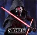 La Fuerza Despierta Kylo Ren Cosplay Darth Vader de Star Wars Lightsaber FX Láser Luz Intermitente Espada Maestro Jedi Yoda batalla