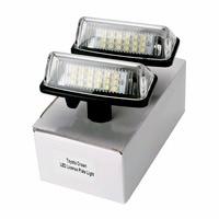 HengChiLun 2X 12V 6000K LED Number Plate Light Lamp Car LED License Plate Light For Toyota
