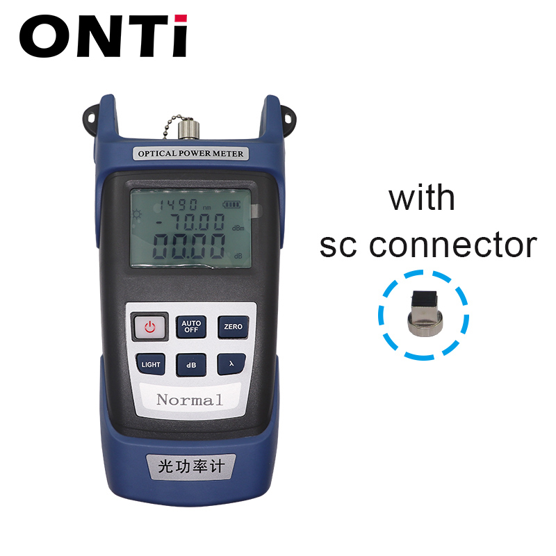 Image 2 - 12pcs/Set  Fiber Optic FTTH Tool Kit with Optical Power Meter 30km Visual Fault Locator  FC 6S Fiber Cleaver Cable Wire Stripper-in Fiber Optic Equipments from Cellphones & Telecommunications