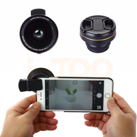 2017 New 0.6X Wide Angle Lens with Clips 37mm Macro Lentes For HUAWEI P8 P9 P10 PLUS Honor 8 9 v8 v9 mate8 9 Mobile Phone Lenses