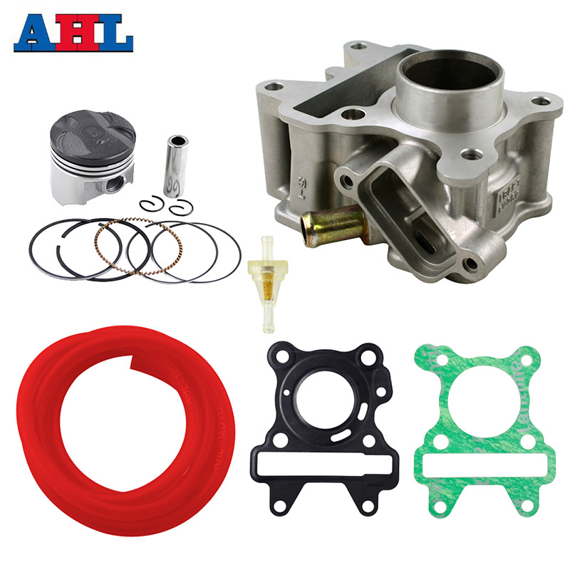 Motorcycle Engine For YAMAHA XC50D XC50H XC50R BX50S BX50N NS50F CE50D CE50ZR Cylinder Piston Head Gasket