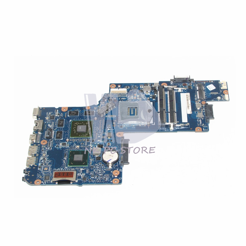 NOKOTION New H000051770 Laptop motherboard For Toshiba Satellite L850 C850 Main Board HM76 DDR3 HD 7670M Video Card
