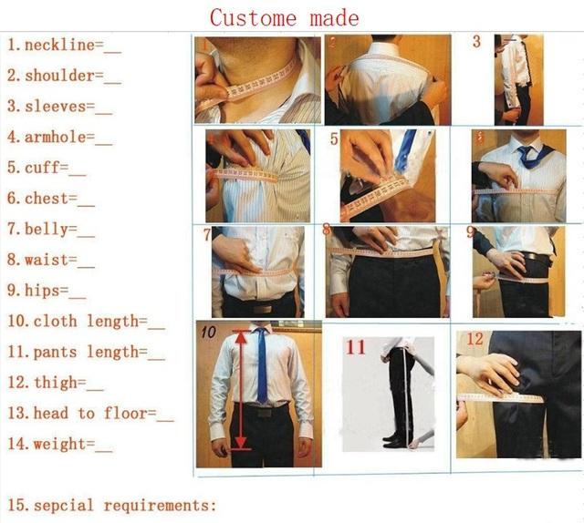 Brand New Groomsmen Olive Green Groom Tuxedos Peak/Notch Lapel Men Suits Wedding Best Man Blazer ( Jacket+Pants+Vest +Tie) C357