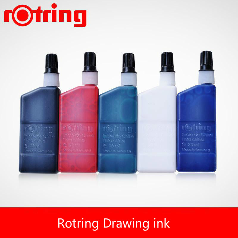Rotring Drawing ink for tracing paper and line board  Marking Needle Tube Pen black/blue/red/green/white WaterproofRotring Drawing ink for tracing paper and line board  Marking Needle Tube Pen black/blue/red/green/white Waterproof