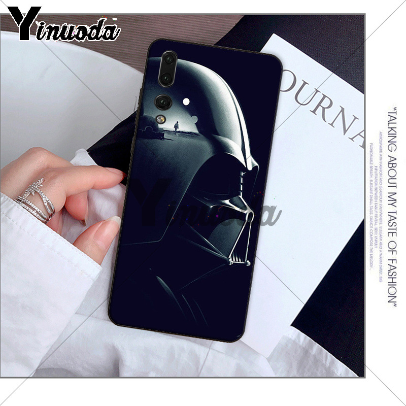 Yinuoda Darth vader Star wars Child TPU black Phone Case Cover for Huawei P10 plus 20 pro P20 lite mate9 10 lite honor 10 view10