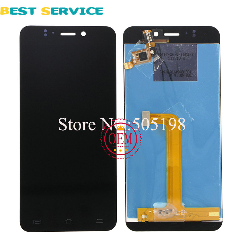 100% Tested LCD Display + Touch Screen Panel Digitizer Assembly for JIAYU S2 Black/White Free Shipping 100% tested new lcd screen for jiayu s1 lcd display digitizer touch screen assembly black free shipping