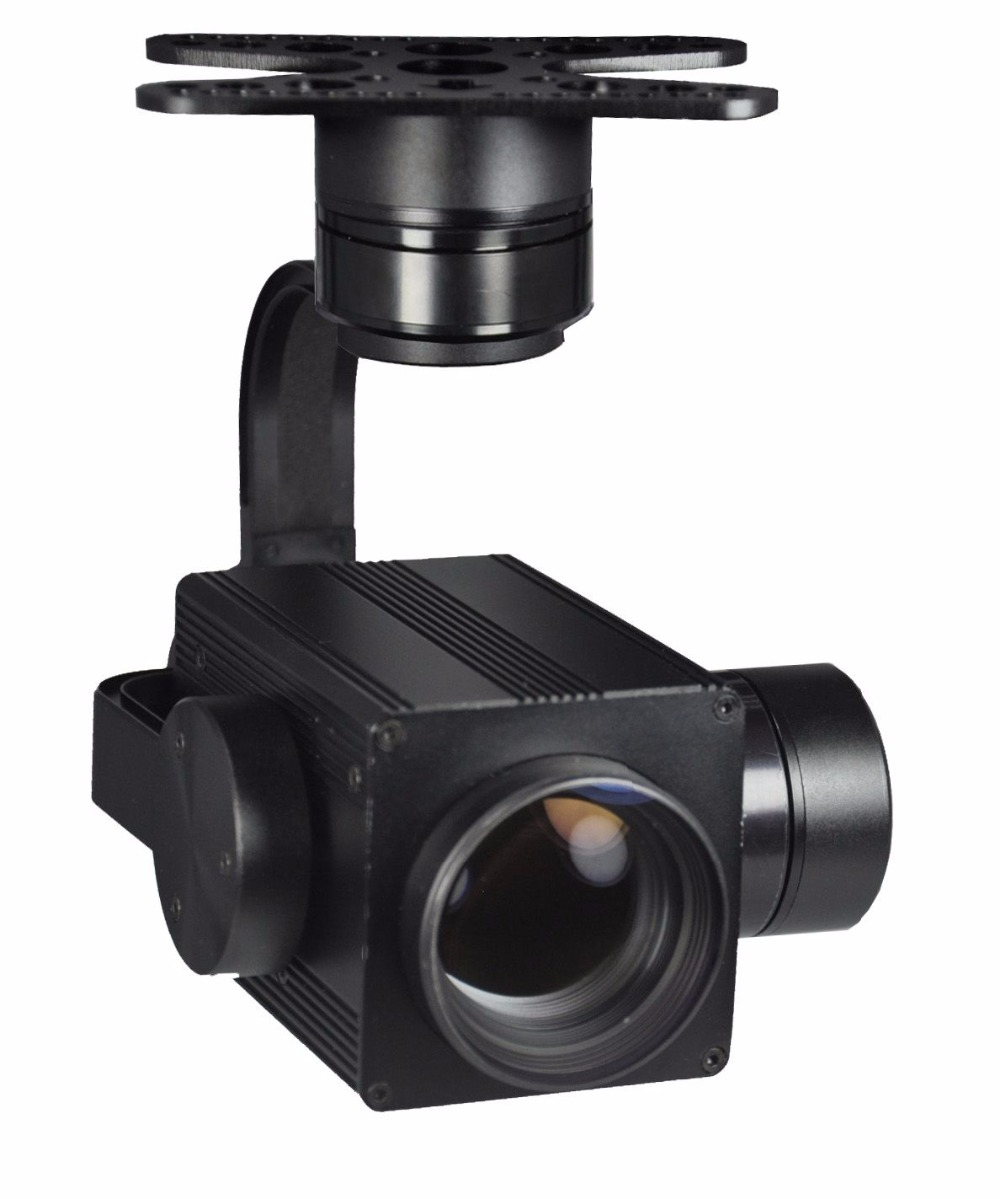 PL330F 30X Optical Zoom Drone Camera with Stabilizer Gimbal 1080P