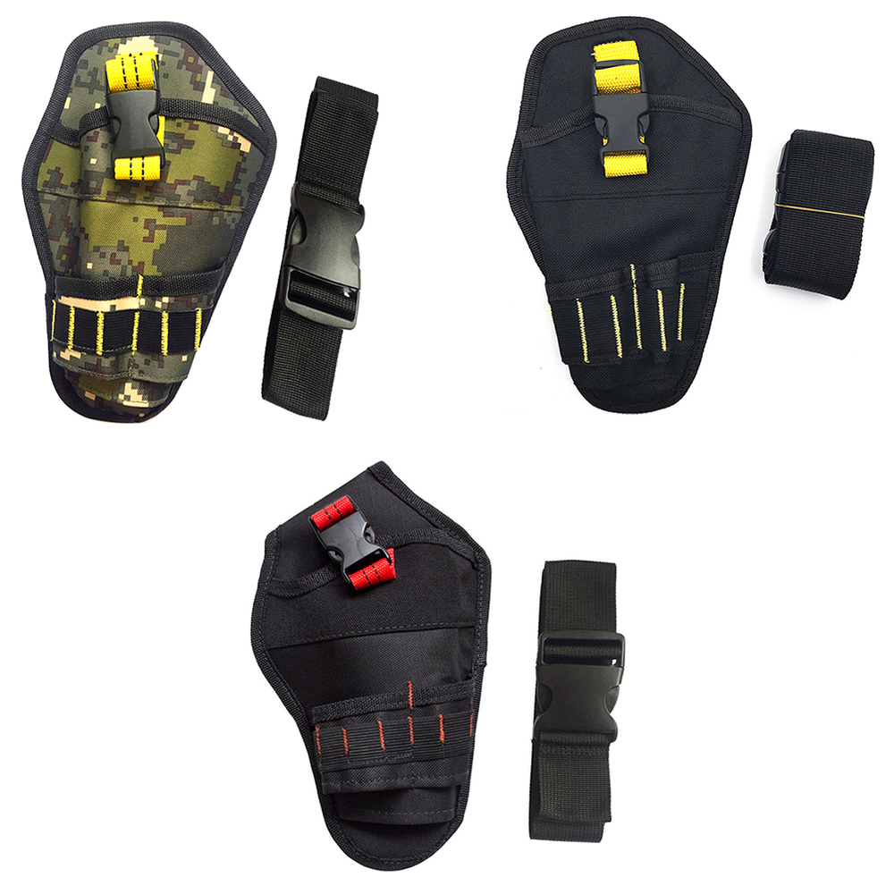 Multi-functional Waterproof Drill Holster Waist Tool Bag Electric Waist Belt Tool Pouch Bag For Wrench Hammer Screwdriver