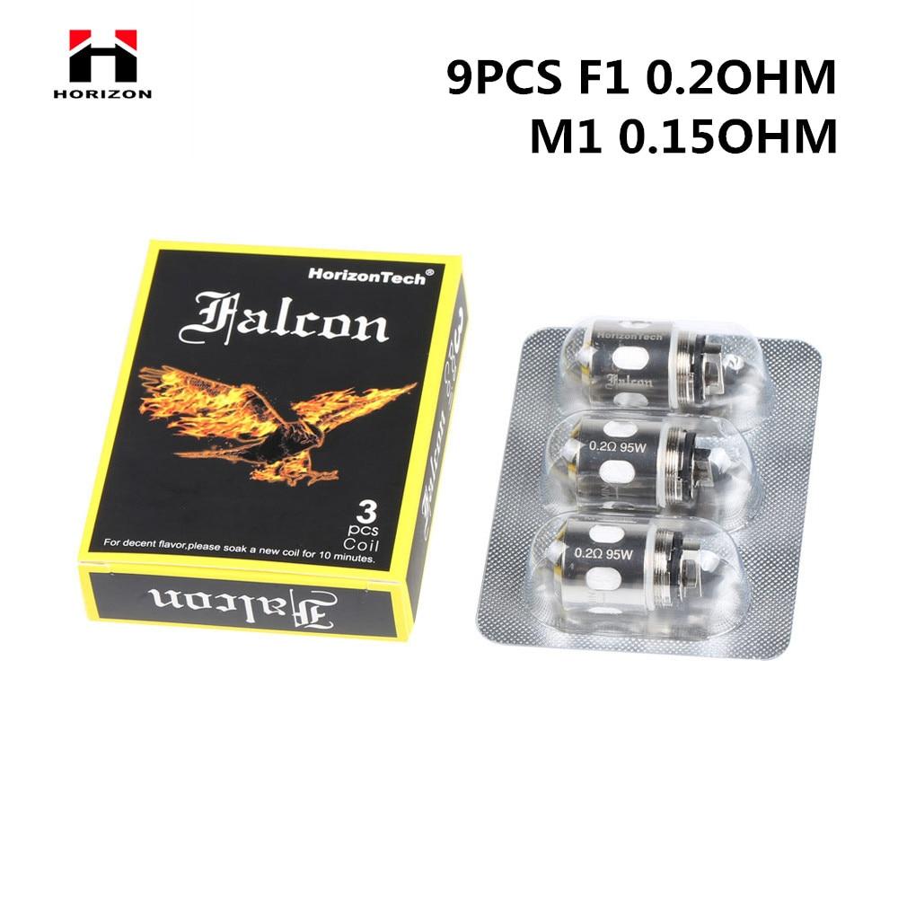 Original HorizonTech Falcon F1/Falcon M1 Coil Head Electronic Cigarette 0.2ohm 0.15ohm Core Fit HorizonTech Falcon Atomizer