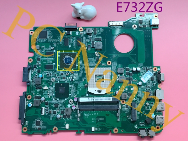 DA0ZRCMB6C0 laptop motherboard for acer eMachines E732 E732ZG HM55 AMD Radeon HD 6550M 1GB video