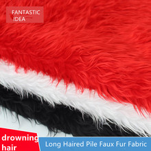 Neotrims Shaggy Faux Fur Fabric Material, Furry Sheep Wool, Photography, Fat Squares, Wedding Events Home Decoration