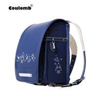 Рюкзак с персонажами куломба для мальчиков, школьные сумки ортопедические сумки, UFO, черные и синие студенческие рюкзаки из искусственной к