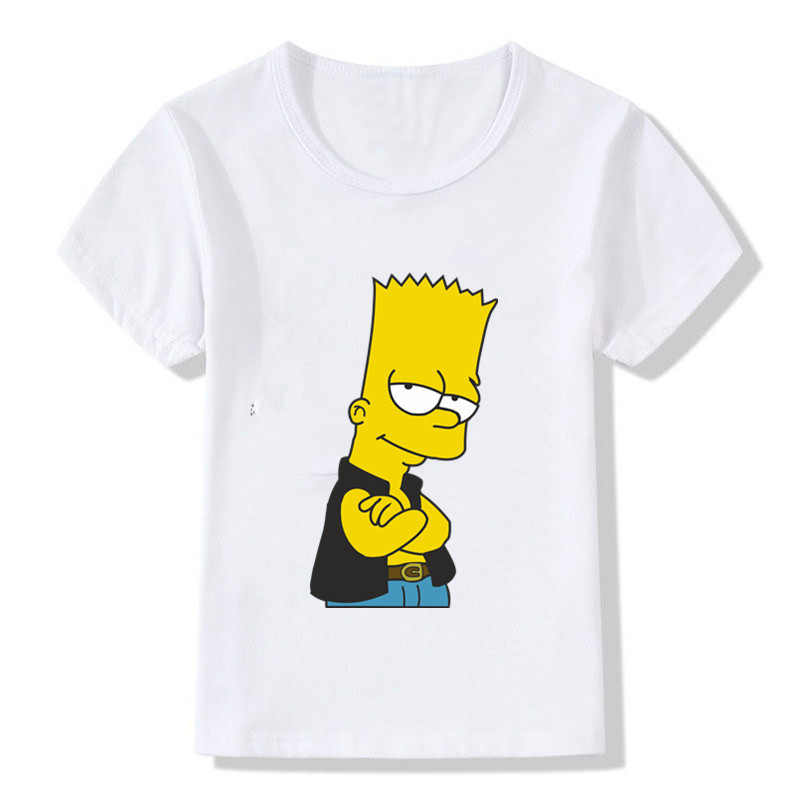 3d464c265ae5c Detail Feedback Questions about Funny Simpson Print Boys and Girls ...