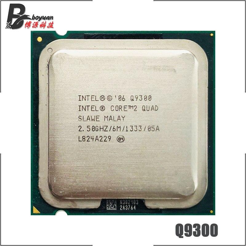 Intel Core 2 Quad Q9300 SLAMX SLAWE 2.5GHz 6MB CPU Processor LGA775