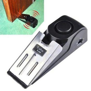 Wireless Vibration Triggered Home Wedge Shaped Stopper Alert Security System Door Stop Alarm Block Blocking System block plane