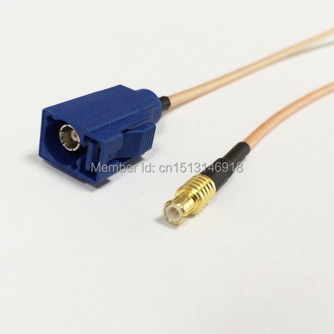 Nuevo conector MCX macho, interruptor recto FAKRA C hembra, adaptador de cable RG316, mayorista envío rápido 15CM 6