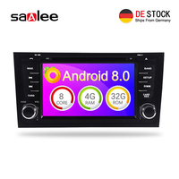 Autoradio 4G RAM Android 8.0 Car dvd Stereo Multimedia Player Sat Nav For AUDI A6 S6 RS6 audio radio GPS Navigation headunit