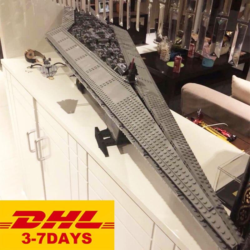 35003 05028 Compatible Star Series Wars 10221 Super Star Destroyer Building Blocks DIY Model Bricks Toys
