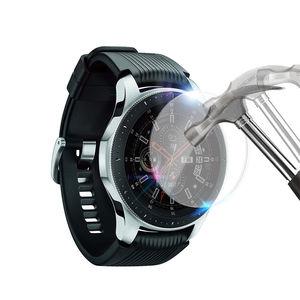Image 4 - 2pcs Vetro Temperato Protezione Dello Schermo per Samsung Galaxy Orologio 46 millimetri 42 millimetri di Protezione Pellicola di Schermo Anti Esplosione Guardia watch Band