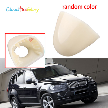 CloudFireGlory 61677145235 Front Left Side Headlight Head Light Lamp Washer Cover Cap Random Color For BMW X5 E53 2003 2004 2005 image