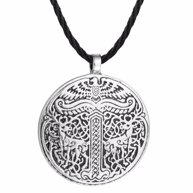 Nostalgia Yggdrasil Pendant Tree Of Life Necklace World Tree Viking