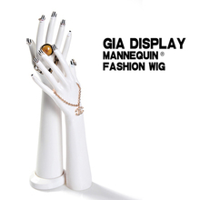 Free Shipping Mannequin Manequin Dummy Realistic White Female Mannequin Hand For Jewelry Display