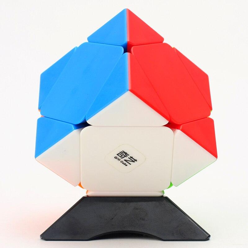 Newest Qiyi QiCheng Skewb Cube MoFangGe MFG Professional Speed Magic Cube Puzzle Twisty Puzzle Educational Toys