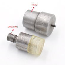 15 sets of dies/lot. Double-sided rivet die 5/6/7/8/9/10/12/15mm+ single/face/rivet tool 6/7/8/9/10/12/15mm. metal hand