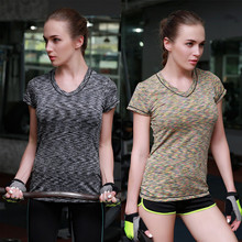2018 New Training Exercise Running Clothing Women Yoga Gym Vest Workout Fitness Tops Sports T Shirt Sportswear Tee Tank Clothes