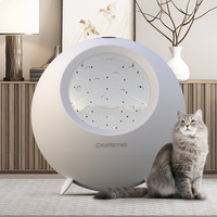 Pet oven cat hair dryer dog bath dryer household automatic drying cat accessories kitten self groomer pet supplies