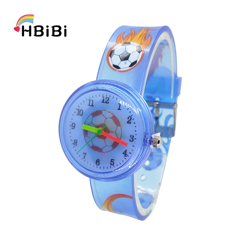 Creative Cartoon Football Kids Fashion Watches Sport Basketball Children Flower Watch Casual Reloj Infantil Montre Pour Enfants