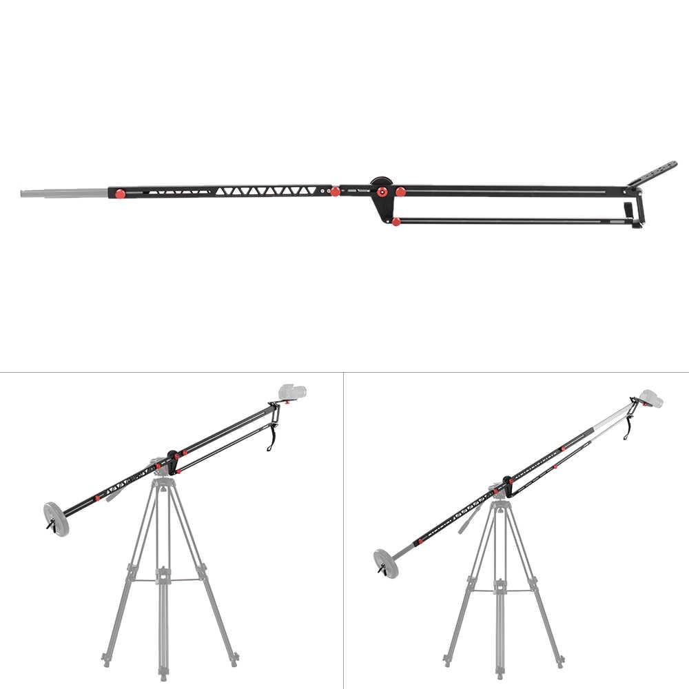 viltrox yb 3m 118 inch jib crane portable retractable telescoping aluminum arm max load 10kg  [ 1000 x 1000 Pixel ]