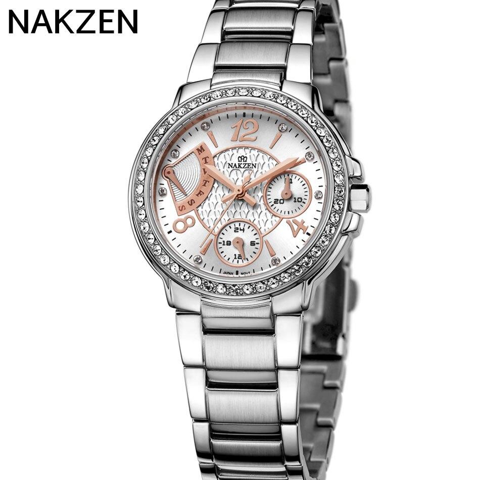 NAKZEN Brand font b Watches b font Luxury Quartz 30M Waterproof font b Watches b font