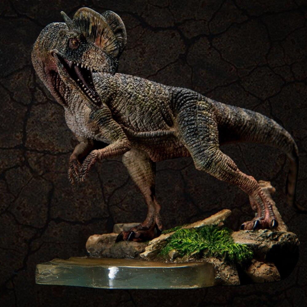 2017 nouveau modèle de dinosaure du monde jurassique Dilophosaurus ancien modèle de Collection adulte biologique
