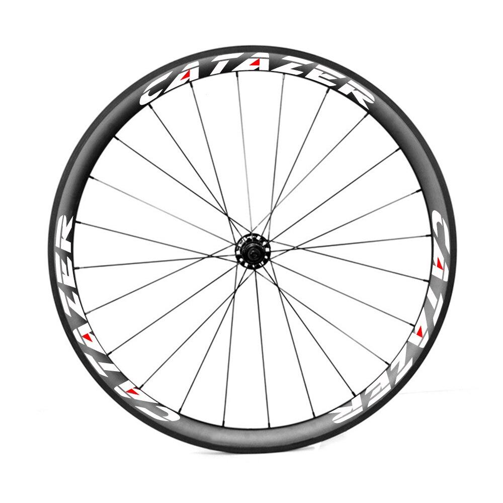 HTB1Km79ub1YBuNjSszeq6yblFXaz - Road Bike 38mm Deep Carbon Wheels Tubeless Wheel Super Light 700C Basalt Brake Surface Bicycle Carbon Wheelset 2 Year Warranty