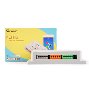 Image 5 - Itead Sonoff 4CH R2 Wifi Smart Switch 4Gang Wireless Remote WiFi Light Switch App Control Smart Home 10A 2200W Works with Google