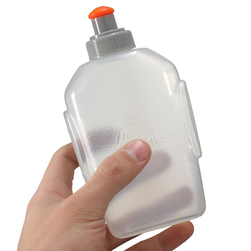 Best Price 170ml / 250ml Transparent Outdoor Sports Bottle Soft Water Bag Water Kettle Mountaineering Cycling Gym Water Bottle