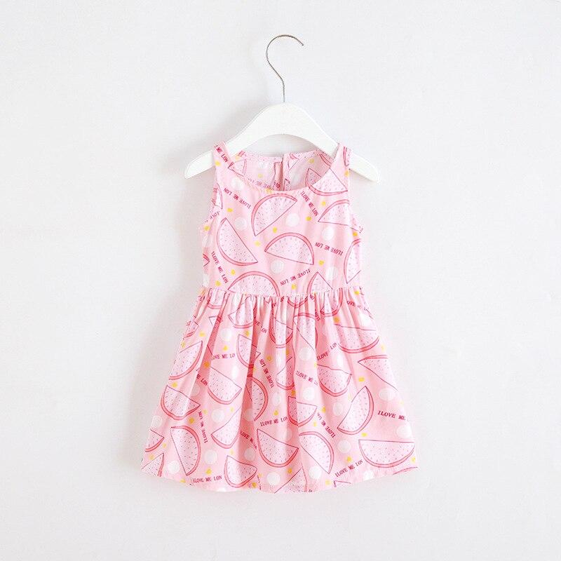 Toddle Kinder Kleidung Sommer Mädchen Kleid Ärmelloses Blumen Prinzessin Party Kleid A-Line Roupas Infantis Menina Kind Kleider