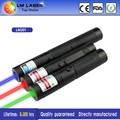 Favorable Price 3 in 1 303 Laser Pointer Green Red Blue Laser Torch With Charger Metal Suitcase With Batteries