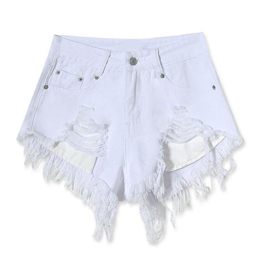 Online Get Cheap White Ripped Shorts Women -Aliexpress.com ...