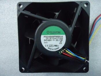 Оригинальный Sunon PSD4808PMBX-A 80*80*38 мм 48 Вт 22,1 Инвертор Вентилятор охлаждения